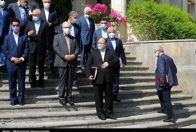 تصاویر آخرین جلسه هیات دولت روحانی