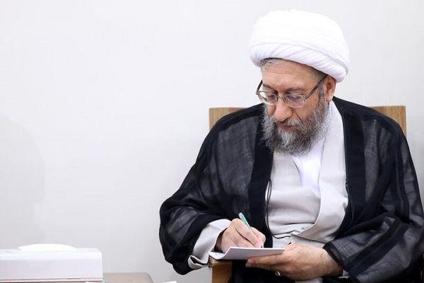 موضع انتخاباتی آملی لاریجانی