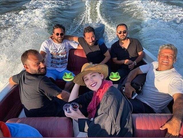 قایق سواری فرشته حسینی
