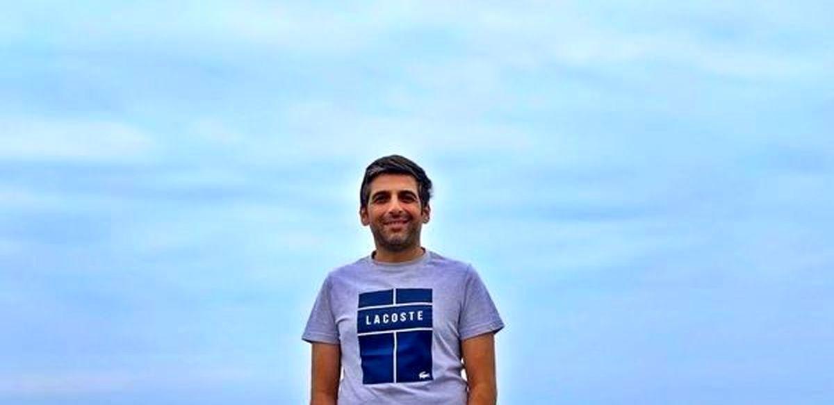 حمید گودرزی از همسرش ماندانا رونمایی کرد+تصاویر دیده نشده