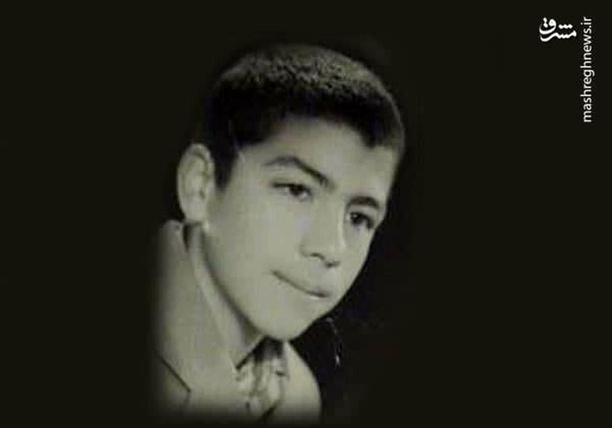عکس نوجوانی سید ابراهیم رئیسی