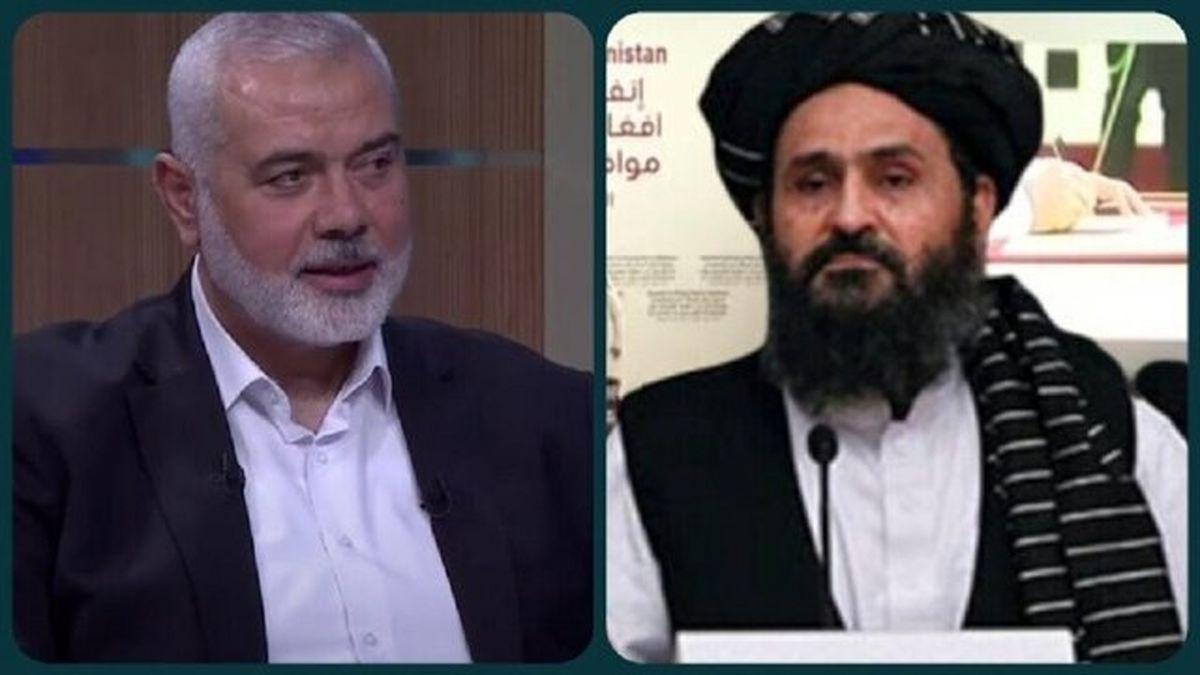 جزئیات گفتگوی تلفنی هنیه با رئیس دفتر سیاسی طالبان