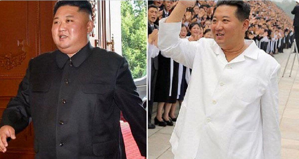 رهبر کره شمالی هر روز آب می رود؛عکس