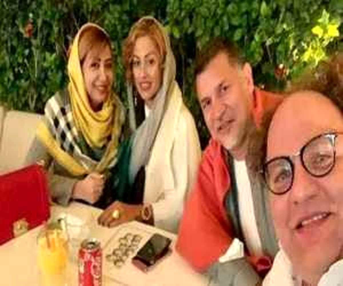 رونمایی از چهره متفاوت همسر علی دایی در میهمانی خصوصی + عکس