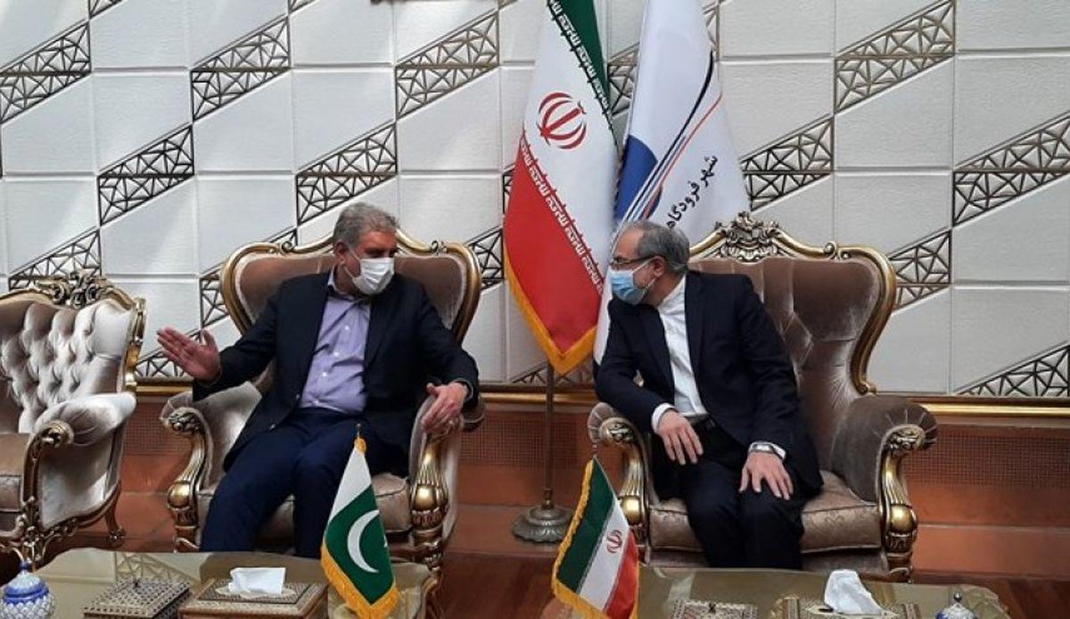 وزیر خارجه پاکستان وارد تهران شد