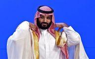 تیک عجیب محمد بن سلمان ولیعهد سعودی |فیلم