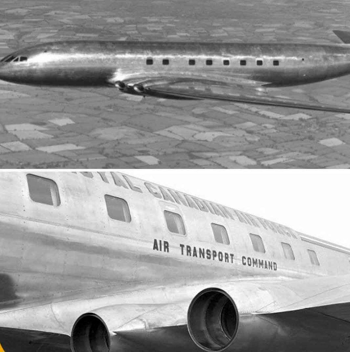 تصویری از هواپیمای پیشرفته 70 سال پیش که نابود شد