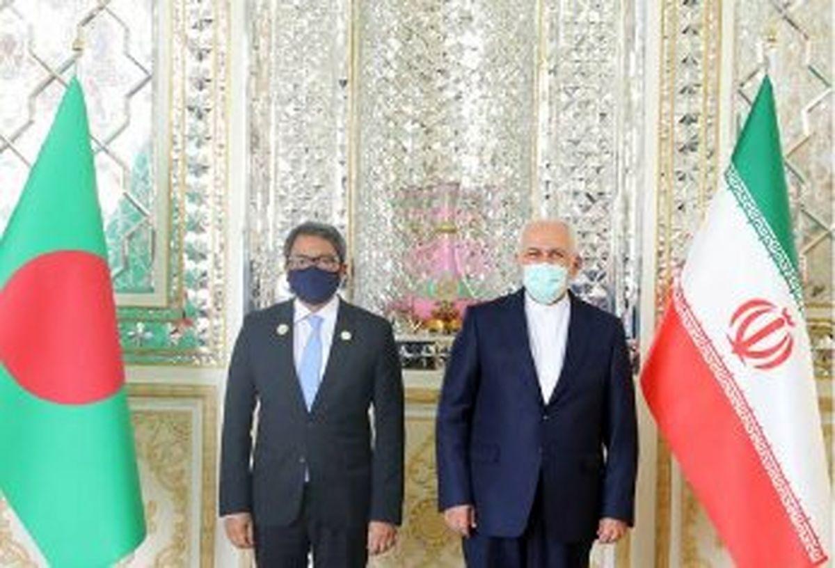 تاکید ظریف و وزیر مشاور در امور خارجی بنگلادش بر لزوم تقویت روابط دوجانبه