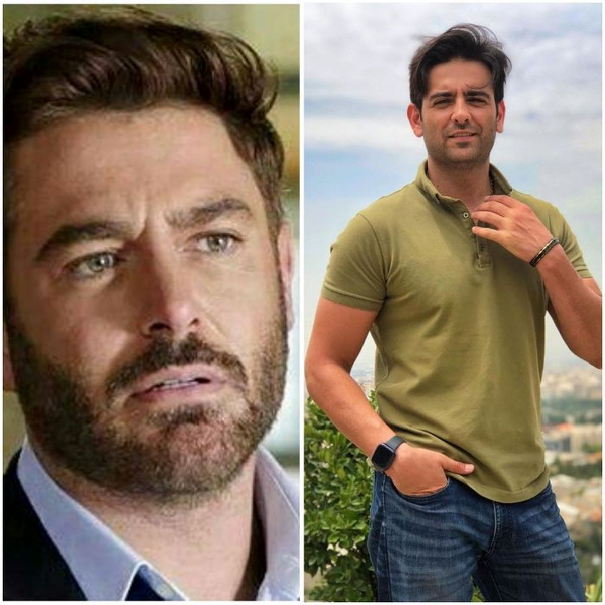کدام بازیگر مرد ایرانی جذاب تر است؟   امیرحسین آرمان یا محمدرضا گلزار؟