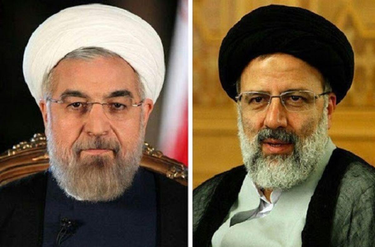 اولین عکس از حضور روحانی در دفتر رییسی پس از پیروزی در انتخابات