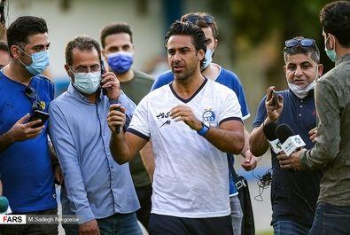 اعتصاب و اعتراض بازیکنان استقلال