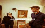 عادل فردوسیپور به دیدار مادر دکتر صدر رفت عکس