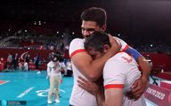 تصاویر شادی و اشک شوق والیبال نشسته ایران