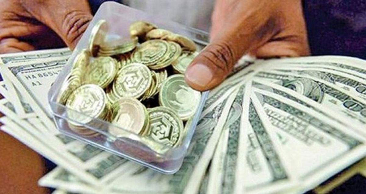 خبر بد: ریزش قیمت دلار و سکه تمام شد!