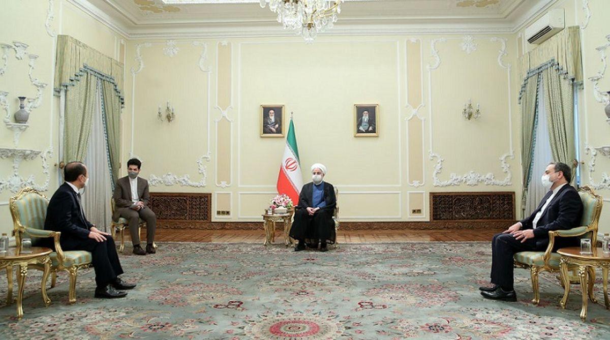 اشاره روحانی به مشکل مالی بین ایران و کره جنوبی