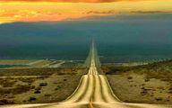 تصویری از جاده مرگ در آمریکا به طول 200 کیلومتر