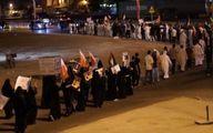 راهپیمایی مردم بحرین در حمایت از فلسطین