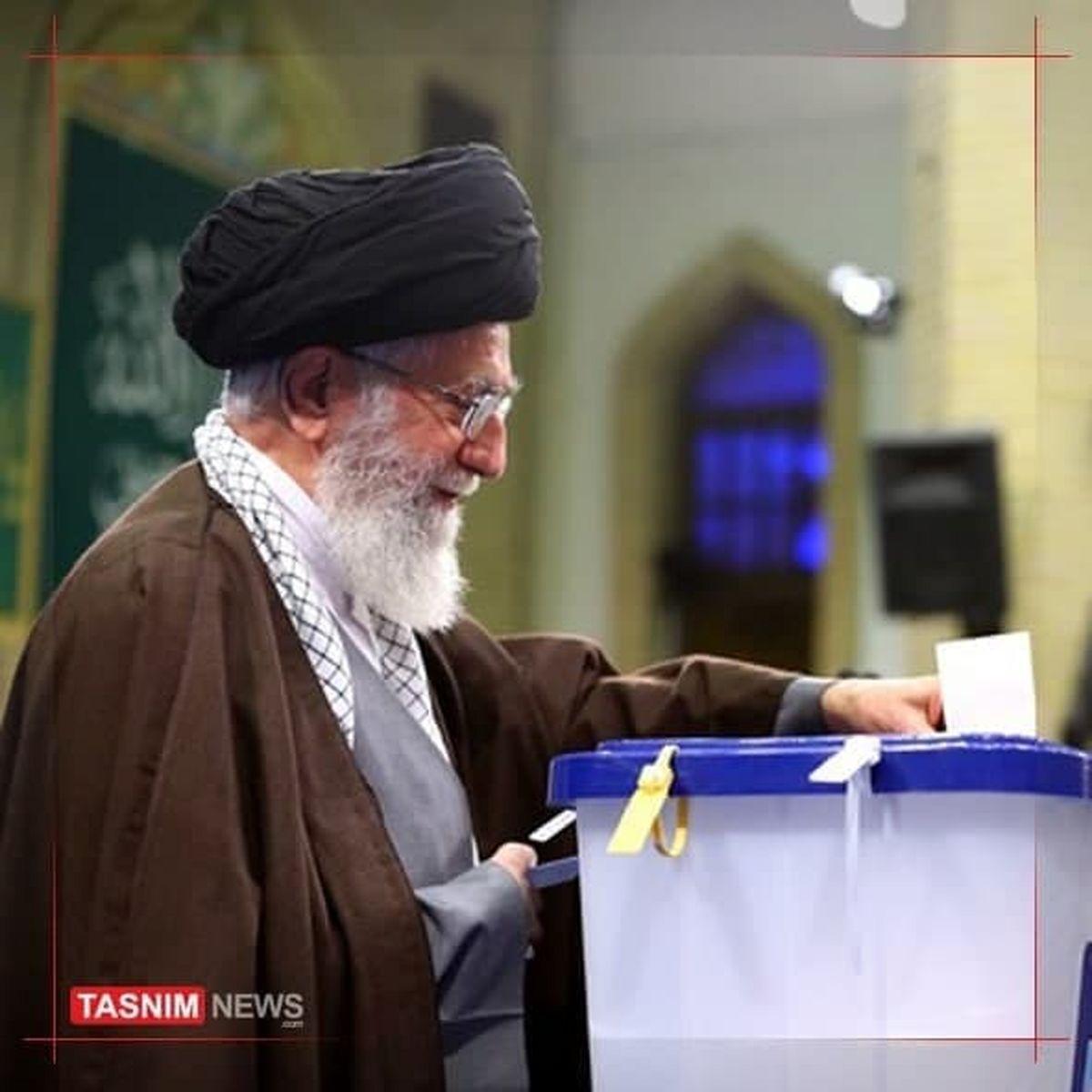 رهبر انقلاب: روز انتخابات روز ملت ایران است