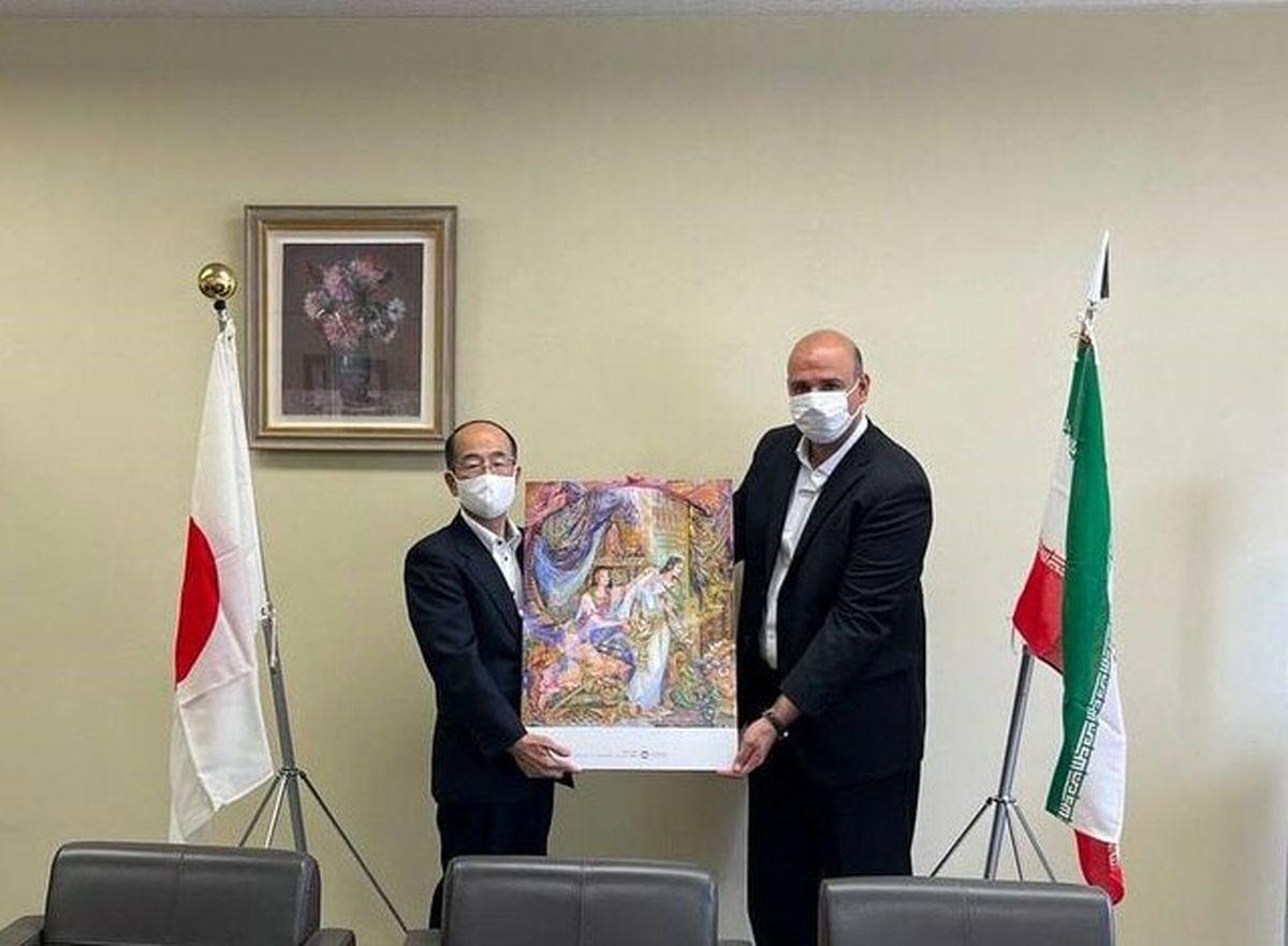 هدیه ایران به ژاپنیها چه بود+ جزئیات
