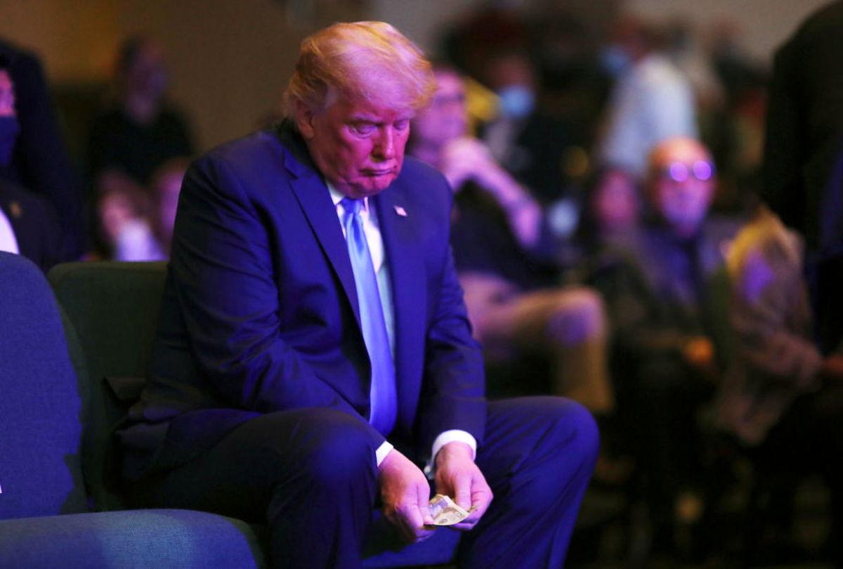 عکس دیده نشده و جنجالی دونالد ترامپ جهانی شد