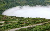 دهکدهای معلق بر روی ابرها / تصاویر
