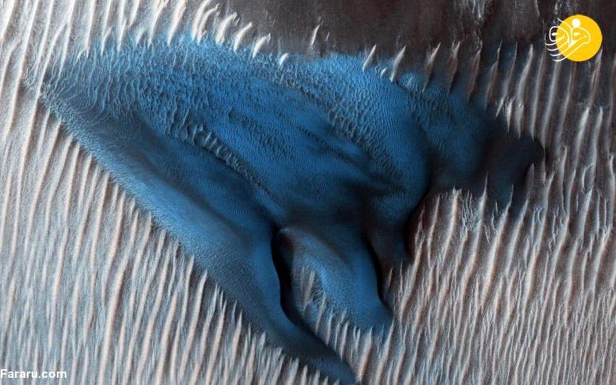 تصاویر دیده نشده و زیبا از سطح مریخ