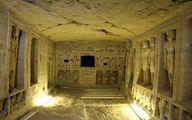 کشف مقبره ۴۴۰۰ ساله مصری/ عکس