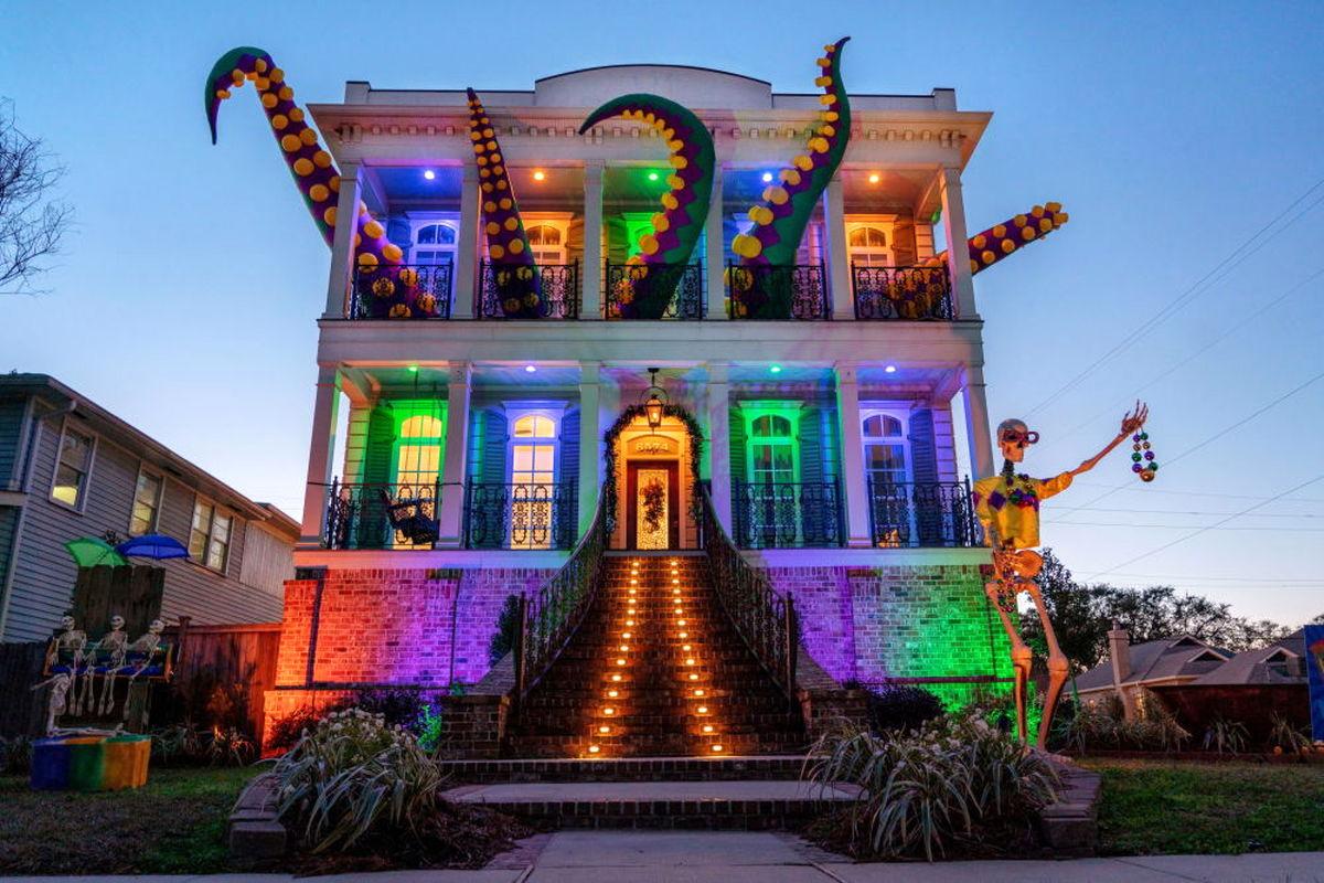 عکسی زیبا از عمارتی عجیب در آمریکا!