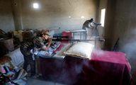 سلاح قدرتمند دختر تک تیرانداز کُرد علیه داعش/عکس