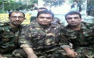 اکبر عبدی و نصرالله رادش در لباس سربازی/ عکس