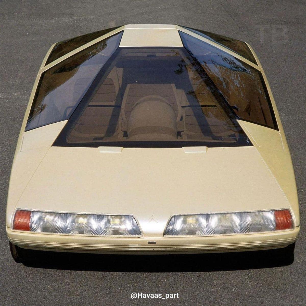 طرح مفهمومی خودرو  در سال ۱۹۸۰+عکس