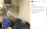 مهران غفوریان در بیمارستان بستری شد+عکس