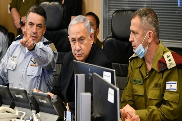 جلسه فوری رئیس رژیم صهیونیستی با مسئولان مناطق نزدیک و مجاور به نوار غزه